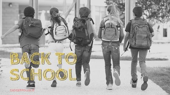 Back to school, articoli personalizzati per la scuola