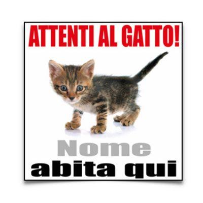 cartello-attenti-al-gatto-personalizzato