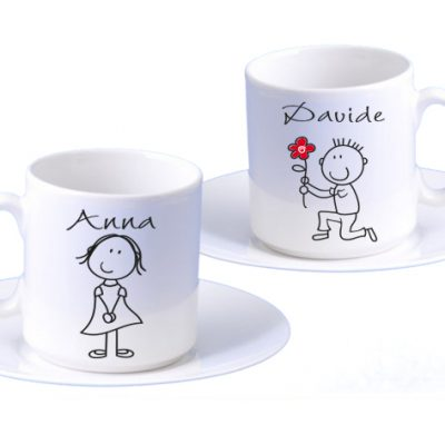 tazzine da caffè personalizzate